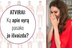ATVIRAI: Ką apie vyrą pasako jo išvaizda?